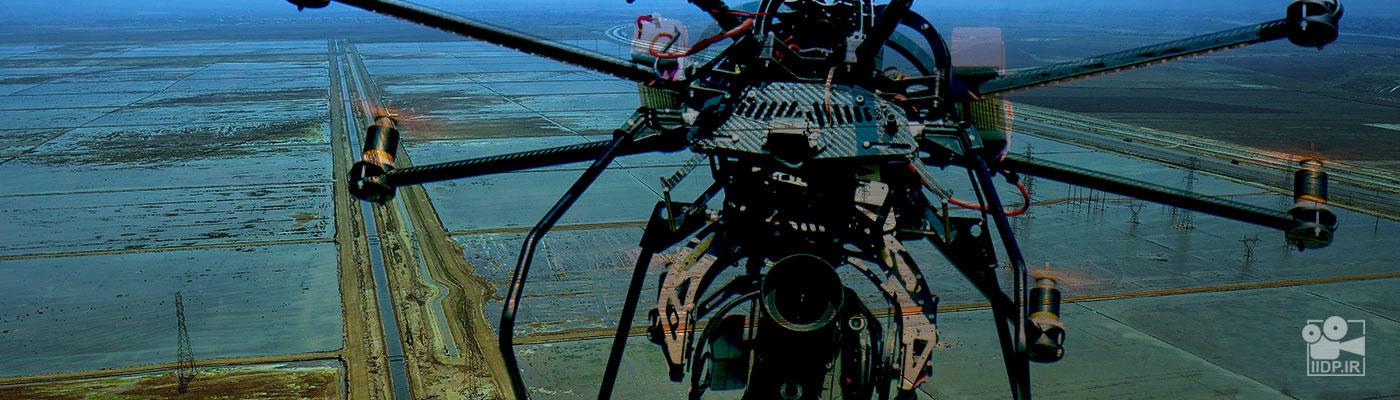 عکاسی هوایی با استفاده از مولتی روتور